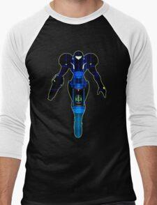 Samus and Metroid Retro Men's Baseball ¾ T-Shirt