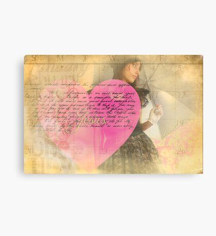 A Waiting Heart Canvas Print