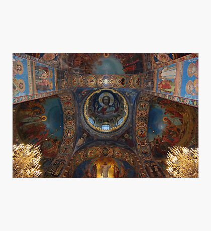 Internal, The Cathedral of Our Saviour on Spilled Blood, St Petersburg Photographic Print