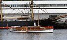 Steam Launch Preanna & the James Craig by Odille Esmonde-Morgan