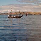 Japanese replica hachoro boat by Odille Esmonde-Morgan