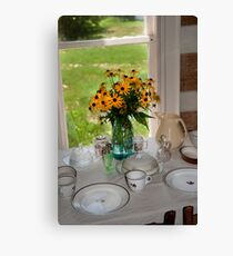 Colonial Luncheon Canvas Print