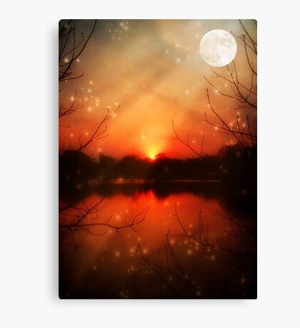 Magical Eve-McCarty Park © Canvas Print