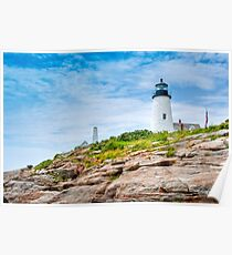 Pemaquid Point Maine Lighthouse Poster