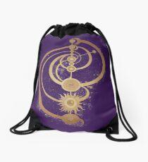 The Dark Crystal Master Time Symbol Drawstring Bag