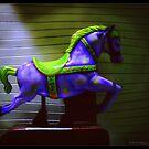 Blue Moon Midnight Horse by PhotoMairo