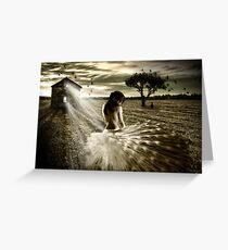 Shattered Promises Greeting Card