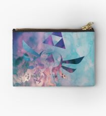 Watercolored Hylian Crest Studio Pouch