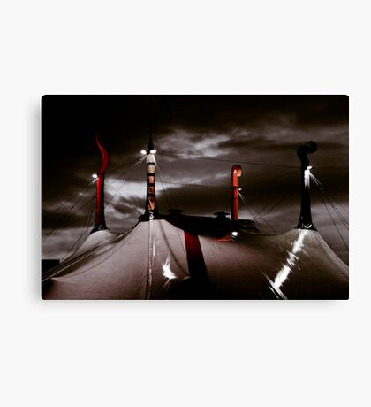 Circus night Canvas Print