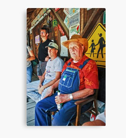 Sittin on the Porch Canvas Print