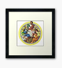 M Blackwell - This isn't Real... Framed Print