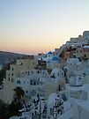 Sunset over Oia by RightSideDown