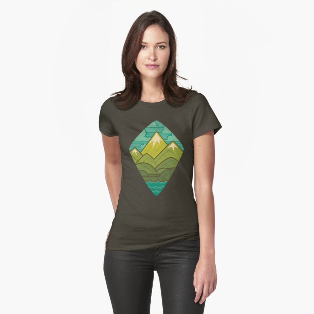 Sea to Sky Womens T-Shirt Front