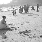 The Photographer, his assistant and the bride by Rene Fuller