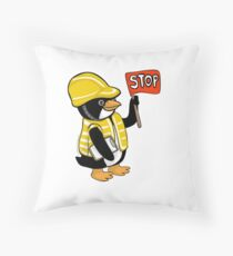 Safety Peng Throw Pillow