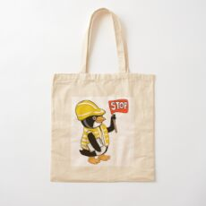 Safety Peng Cotton Tote Bag