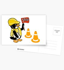 Safety Peng Postcards