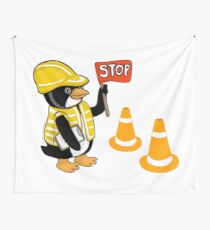 Safety Peng Wall Tapestry
