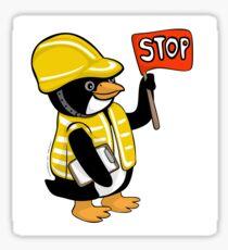Safety Peng Glossy Sticker