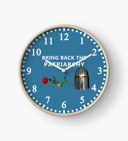 Bring Back the Patriarchy Clock