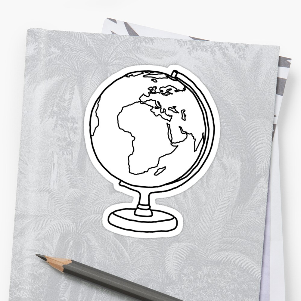 Simple Globe Graphic by axialdesigns