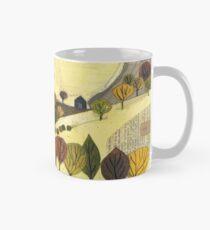 Autumn Trees Landscape Classic Mug