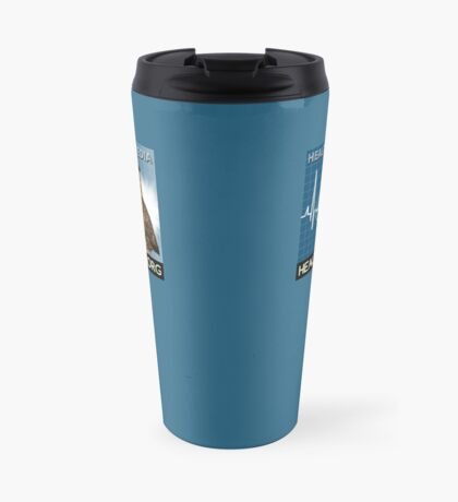 Health Wyze Media Travel Mug