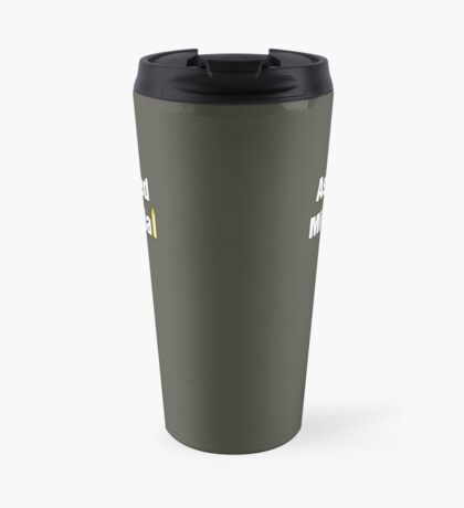 Ashamed Millennial Travel Mug