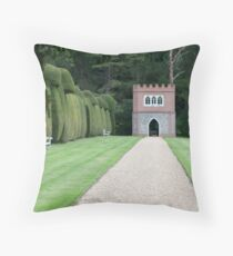 The Folley at Doddington Hall, Kent Throw Pillow