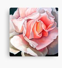 """Single Rose""  Canvas Print"