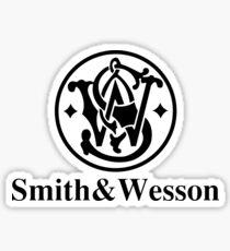 Black Smith Gun Sticker
