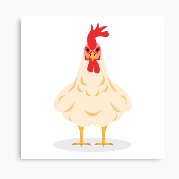 Cute Chicken Canvas Print