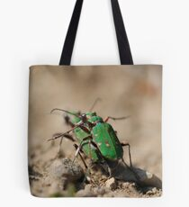 Mating Beetles Tote Bag