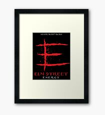 Elm Street Energy Framed Print