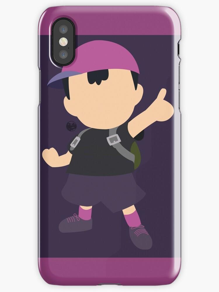 Ness (Purple) - Super Smash Bros. by samaran