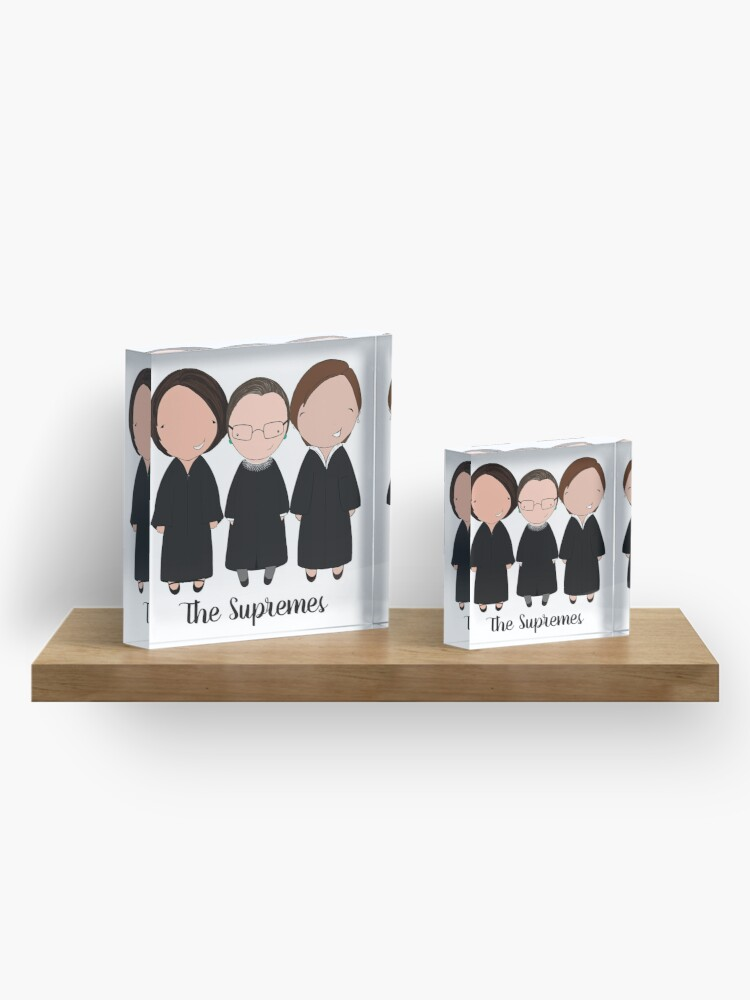 Alternate view of The Supremes 2016 Acrylic Block