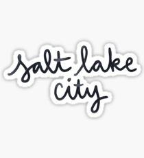 salt lake city Sticker