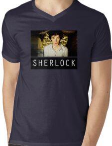 SHERLOCK T-SHIRT Mens V-Neck T-Shirt