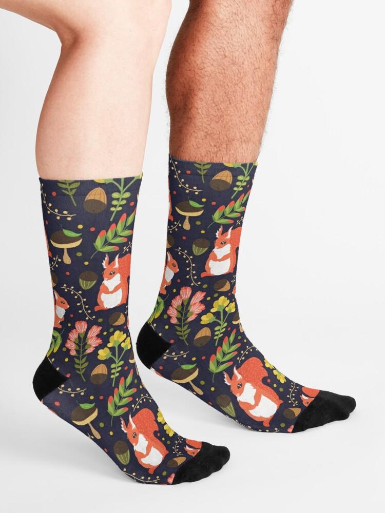 Alternate view of Squirrels Socks