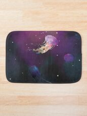 Space Jellies Bath Mat