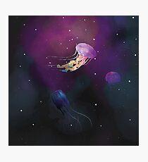 Space Jellies Photographic Print
