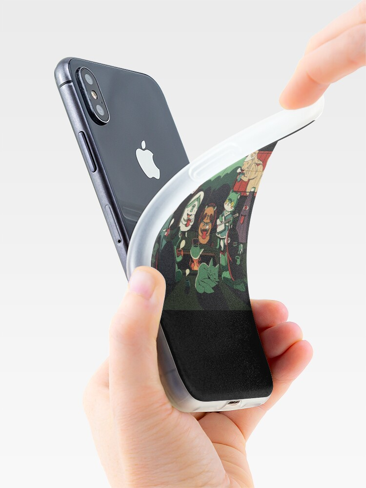 Alternate view of Yokai Tea Party iPhone Case & Cover