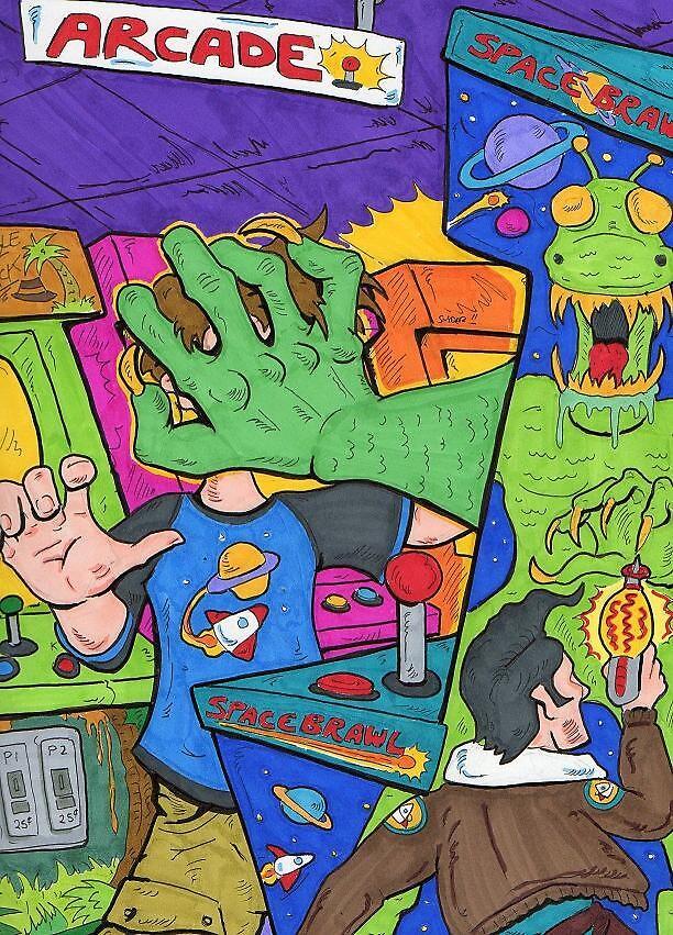 Arcade  by AnthonyofKzoo