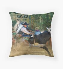 Myrtleford Rodeo - 2010 Throw Pillow