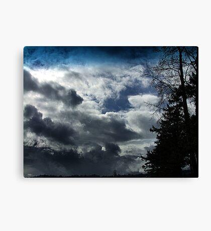 Storm Front Passing Canvas Print