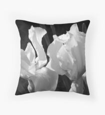 Stop n smell the flowers Throw Pillow