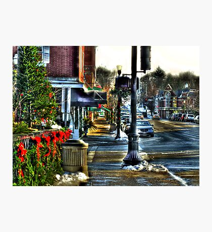 Downtown Chagrin Falls Photographic Print