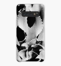 Succulent in black and white Case/Skin for Samsung Galaxy