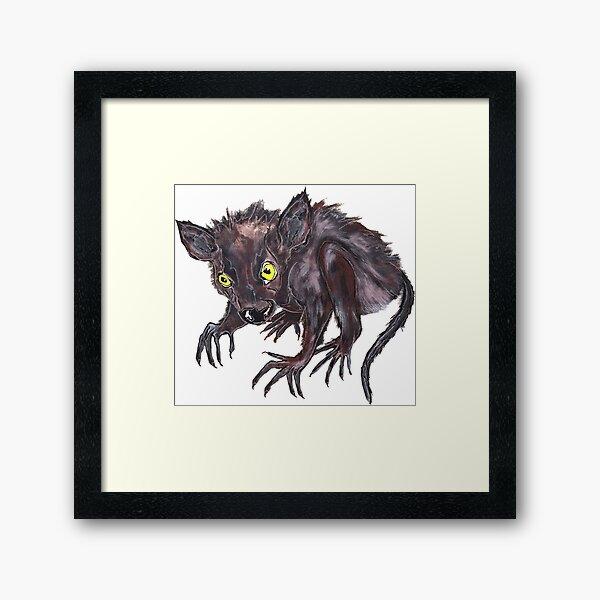 Werwolfbaby, das niedlichste Haustier der Welt - Glaube und Wahrheit Gerahmter Kunstdruck