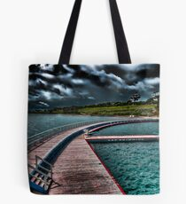 Eastern Beach Promenade - Geelong Victoria Tote Bag